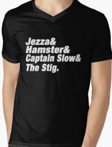 Top Gear UK Mens V-Neck T-Shirt