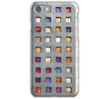 Red Grid Phone Case iPhone Case/Skin