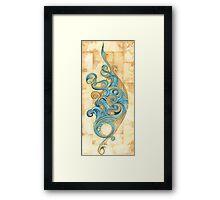 Tigarna Wave Framed Print