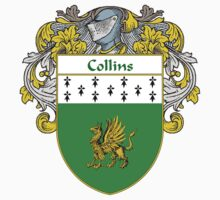 Collins Coat of Arms/Family Crest by William Martin