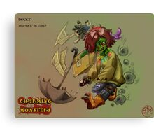 Charming Monsters Canvas Print