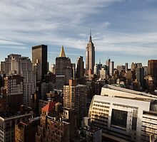 Golden Hour In Midtown Manhattan by stahlberg