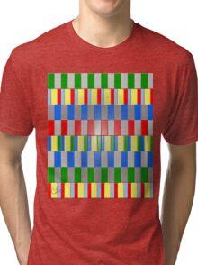 Colorful Blocks Tri-blend T-Shirt