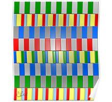 Colorful Blocks Poster