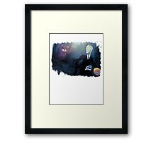 how things really are Framed Print