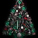 Merry Christmas! (Black) by Susana Weber