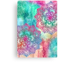 Round and Round the Rainbow Canvas Print