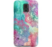 Round and Round the Rainbow Samsung Galaxy Case/Skin