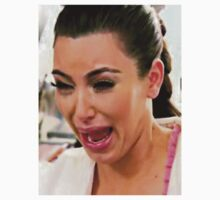 Kim Kardashian Crying  by Ewan Martin