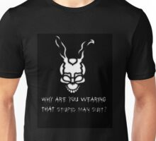Frank The Rabbit (Black) Unisex T-Shirt