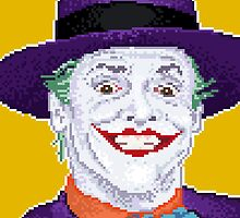 89' Joker, pixelized by graphicjordan