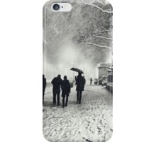 Winter Night - New York City iPhone Case/Skin