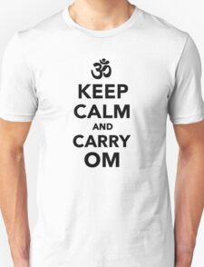Keep calm and carry om Unisex T-Shirt