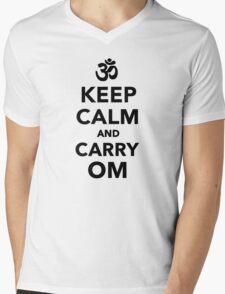 Keep calm and carry om Mens V-Neck T-Shirt