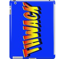 Thwack! Comic Book Sound Effect iPad Case/Skin