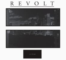 Revolt NYC Shirt Black Edition by elmascc