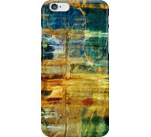 Pictured Rocks National Lakeshore Abstract Impressionism iPhone Case/Skin