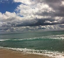 beach storm 3 by Sari Shein