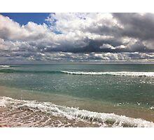 beach storm 4 Photographic Print
