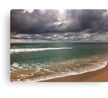 beach storm 5 Canvas Print