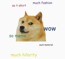 Such Doge T-shirt by Sarcasmic