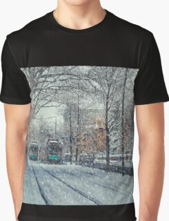 Never ending winter. Brookline, MA Graphic T-Shirt