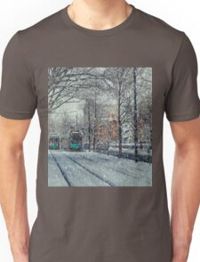 Never ending winter. Brookline, MA Unisex T-Shirt