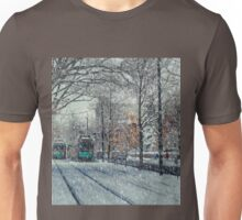 Never ending winter. Brookline, MA Unisex T-Shirt