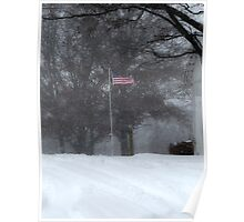 Waving in the Snow Poster