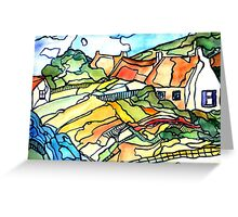 Rural cottages Greeting Card
