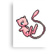 Pokemon - Mew Sprite Canvas Print