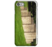 The Breeze Blocks at The Yorkshire Sculpture Park iPhone Case/Skin