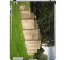 The Breeze Blocks at The Yorkshire Sculpture Park iPad Case/Skin