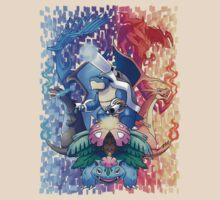 Pokemon XY Mega Evolutions by CaroRT