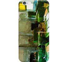 Independence Hall Philadelphia Abstract Impressionism iPhone Case/Skin