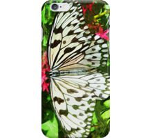 Paper Kite Butterfly Abstract Impressionism iPhone Case/Skin
