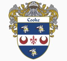 Cooke Coat of Arms/Family Crest by William Martin