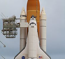 Atlantis Ready for STS-135 Launch by Botts85