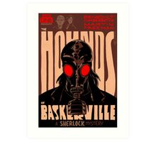 Vintage Poster - The Hounds of Baskerville Art Print