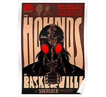 Vintage Poster - The Hounds of Baskerville Poster