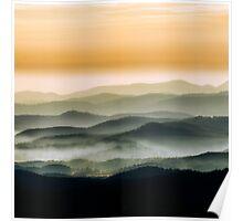 Blue Ridge Sunrise Poster