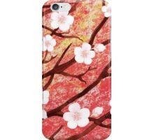 White Blossoms Sunrise iPhone Case/Skin