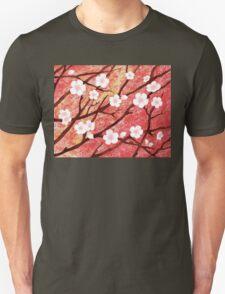 White Blossoms Sunrise T-Shirt