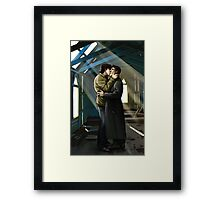 Further On Up the Road Framed Print
