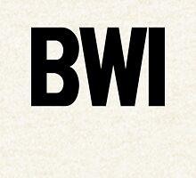 BWI Baltimore Washington International Airport Black Ink Hoodie