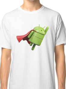 Android super hero Classic T-Shirt