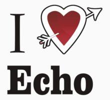 i love echo heart by Tia Knight