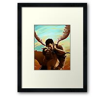 Inappropriate Conduct Framed Print
