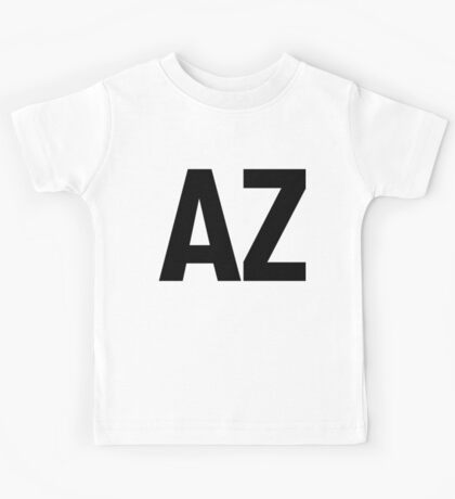 Arizona AZ Black Ink Kids Tee