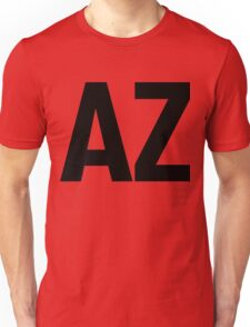Arizona AZ Black Ink Unisex T-Shirt